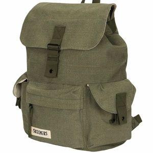 Skechers Driftwood Backpack Olive Green - Unisex